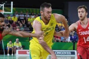 Australian Boomers v Canada Basketball